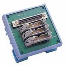 研华DIN导轨安装的68脚SCSI-II到3×20脚接线端子板