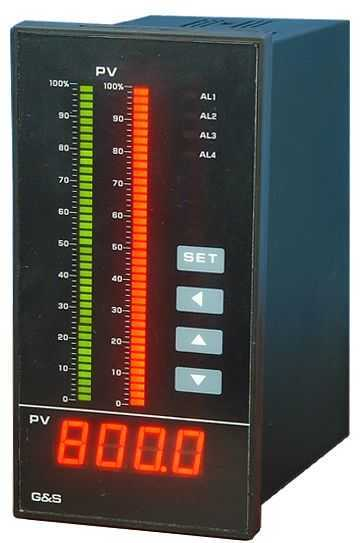 增强型智能数字光柱显示控制仪表