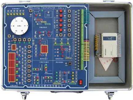 二,结构简介:    el型plc实验系统由实验箱,plc,计算机软件三部分构成