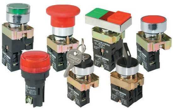 作为磁力起动器,接触器,继电器及其它电气线路的控制之用,带指示灯式