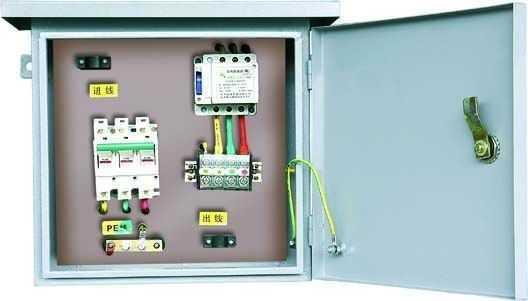 两层电箱接线图