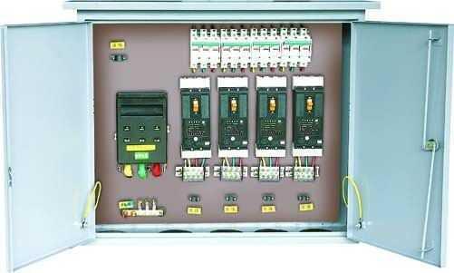 塔吊电箱电源开关接线示意图