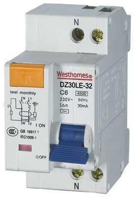 DZ30LE-32(相线+中性线+漏电)保护断路器