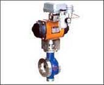 Q71F-16/40P 气动V型球阀