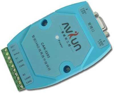 CAN-3202 智能CAN转232两路中继网桥