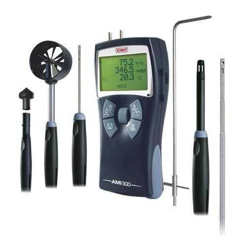 多功能测量仪 ( 温度, 湿度, 压差, 风速, 风量, 转速 )