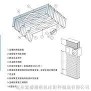 (齐全)同动风琴式机床导轨防护罩/机床附件