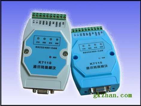 科日新RS232/485转CAN总线模块