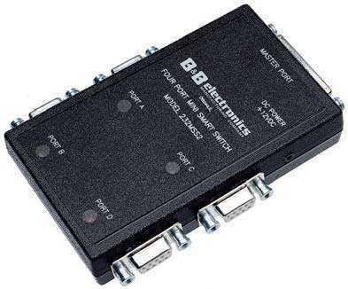 智能型/可寻址rs-485到rs-232转换器/交换机