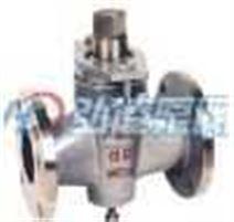 X43W-1.0C二通铸钢法兰式旋塞阀