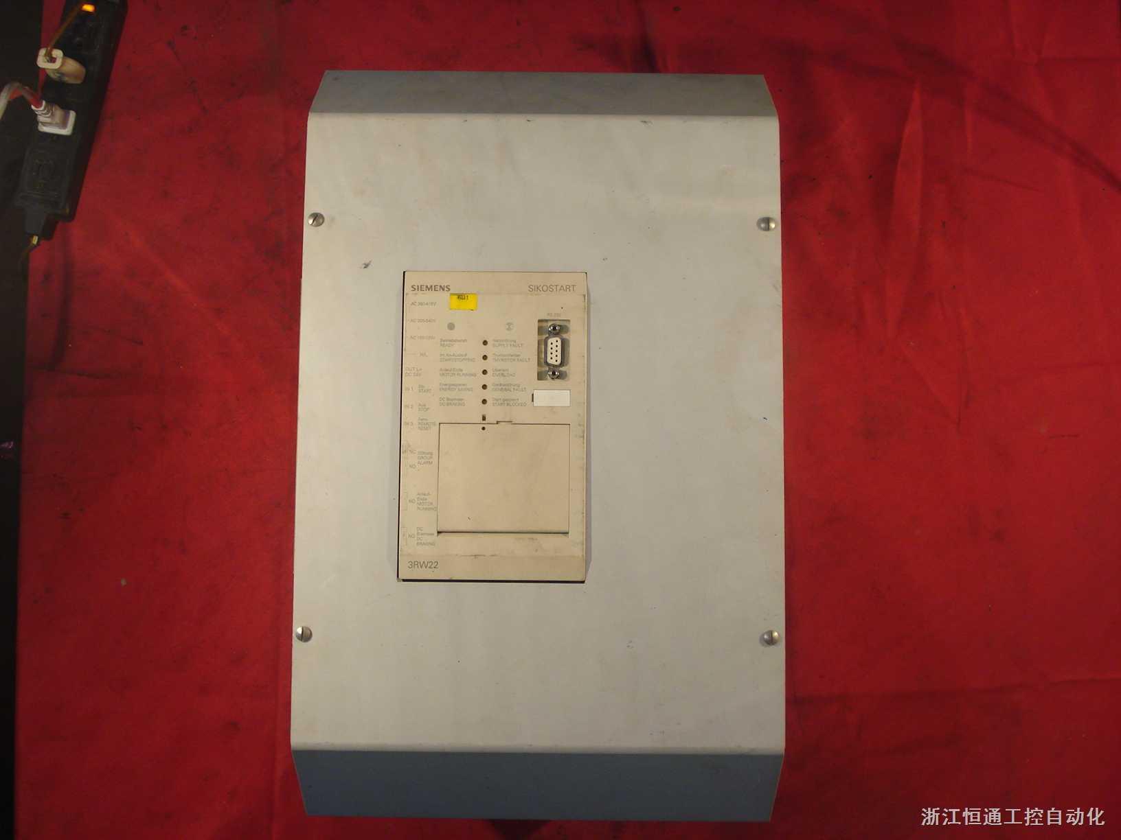 西门子电动机软起动器(SIKOSTART)   3RW22