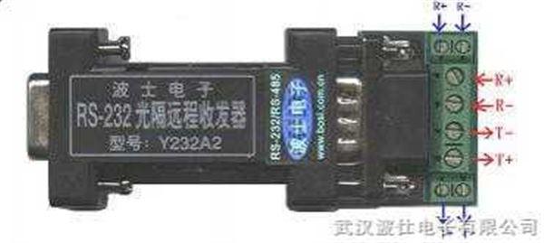 Y232A2 冗余型RS232光隔远程收发器  232延长器 232长线收发器