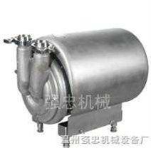 卫生级自吸泵CIP回程泵