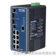 研华EKI-7659C 8+2G光电组合Combo端口网管型冗余千兆以太网交换机