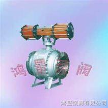 Q647F型气动固定式球阀