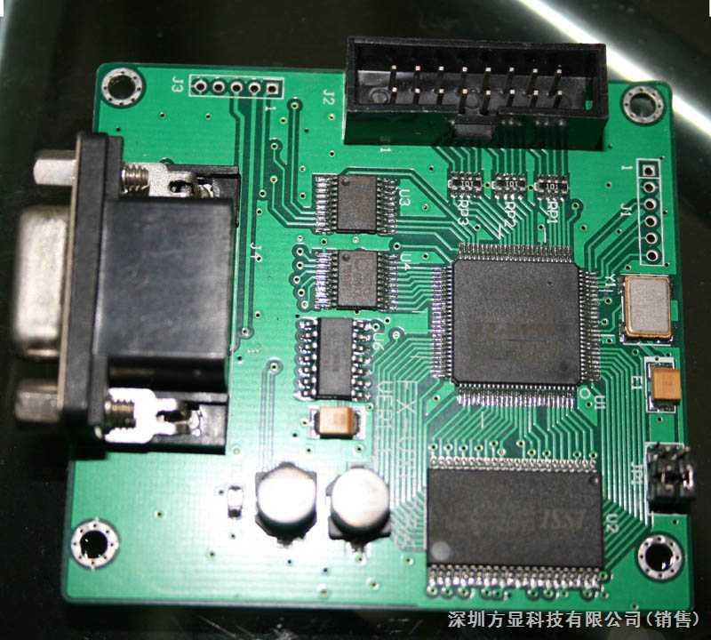 单片机控制显示器vga驱动板