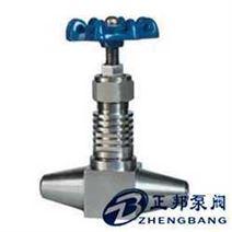 高温高压对焊截止阀