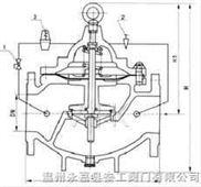 秦工200X型减压阀/减压稳压阀