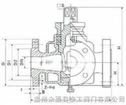 BX44W--秦工三通保温旋塞阀/油密封旋塞阀