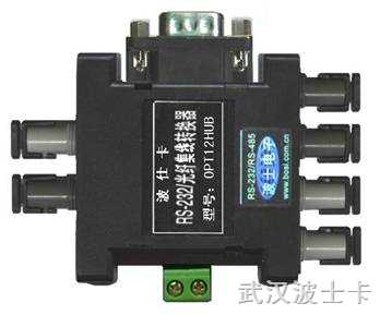 OPT12HUB--1扩2路串口光纤集线器