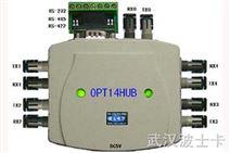OPT14HUB--1扩4路串口光纤集线器