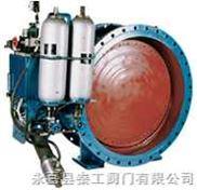 KD741H-6C--液控缓闭止回蝶阀