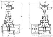 Z941H--电动法兰碳钢闸阀