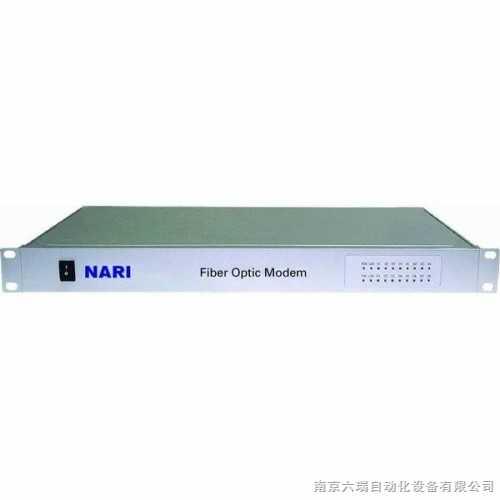 工业级集中式RS232转RS422光纤调制解调器