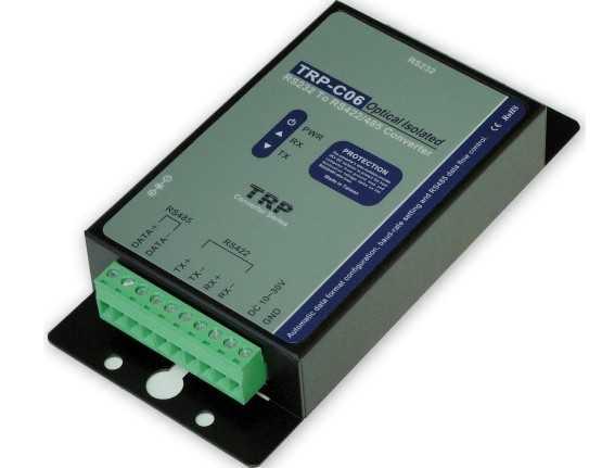 > rs232转rs422/485光隔离转换器