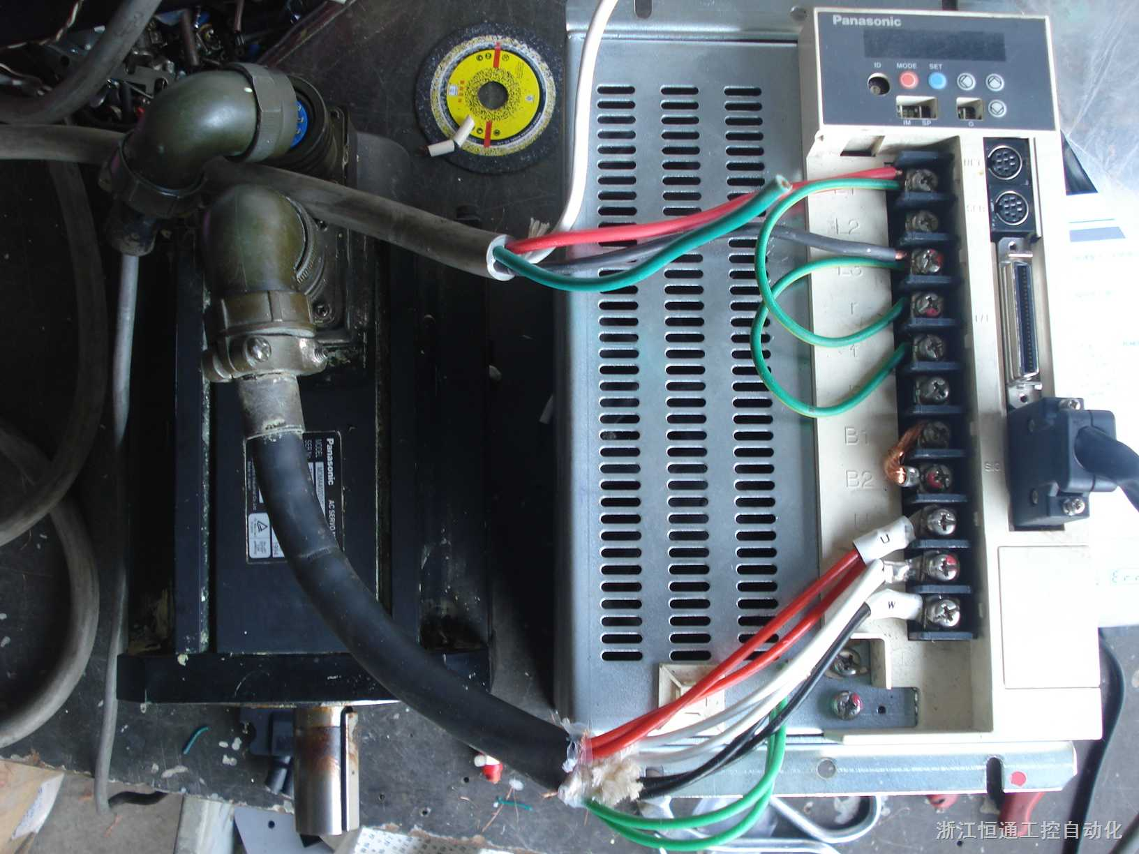 mdda403d1a mdma402d1g-松下伺服电机驱动器 mdda403d