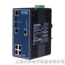 研华 EKI-7654C 4+2G光电组合Combo口网管型冗余千兆以太网交换机