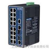 研华 EKI-7656CI 16+2G网管冗余千兆宽温以太网交换机