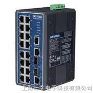 研华 EKI-7656C 16+2G光电组合Combo口网管冗余千兆以太网交换机