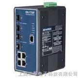 研华 EKI-7758F 8G网管型千兆以太网交换机4个千兆电口+4个千兆光口