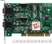 中国台湾泓格带有9针D型插头的4口隔离保护CAN通讯卡