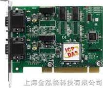台湾泓格带有9针D型插头的4口隔离保护CAN通讯卡