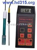 便携式PH计/温度计 便携式酸度测试仪 型号:XB89-M267(H5HI8424国内组装)国产