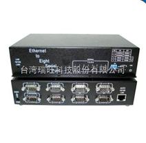 以太网串口服务器,8口RS422/485可设串口转换,厂家