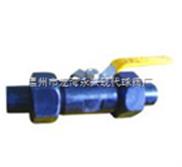 Q21F广式碳钢球阀(带螺帽接管)