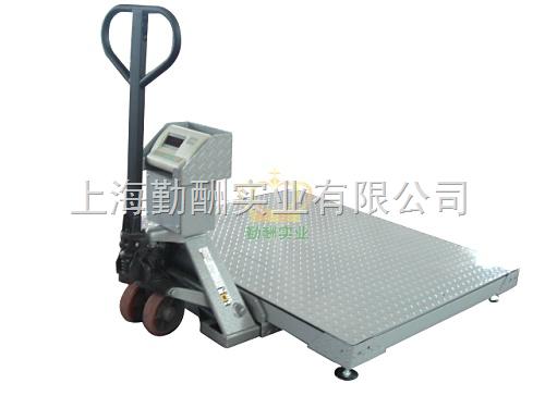 2吨电子搬运拖车秤 移动电子秤磅
