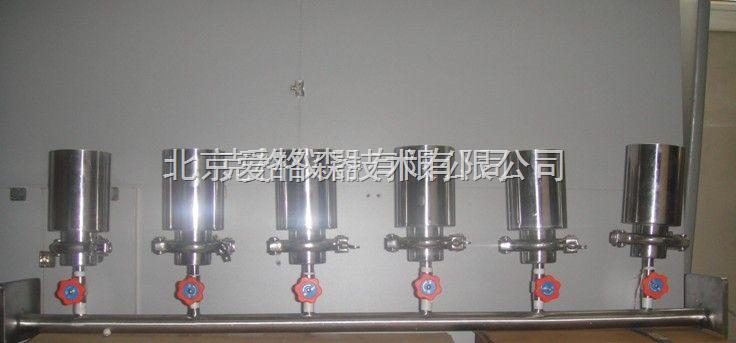 m377732四联全不锈钢溶液过滤器,实验室薄膜过滤器,不锈钢过滤器厂家