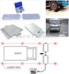 SCS-D七部委专用(黑汽重卡)便携式汽车磅含税含运费价格?