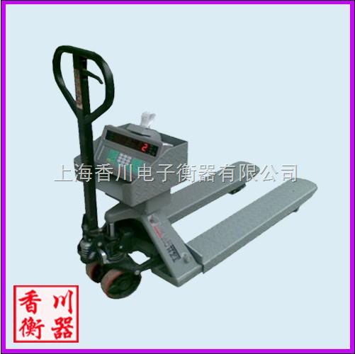 DCS-FC 手动叉车秤(带打印)