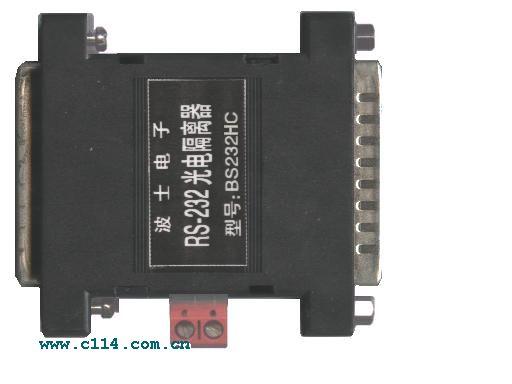 产品描述   型号:BS232H9 BS232H25 BS232HC25   波士有源 RS-232 高速光电隔离器   ——确保高达 150Kbps 通信速率,增加 RS-232 驱动能力!      一、用途   波士电子的 BS232H 系列有源 RS232 高速光电隔离器用于实现RS232 串行口的高速光电隔离。BS232H 系列用于实现 RS232 串行通信的机器之间的高速光电隔离、保护通信的 RS232串行口及机器。      二、硬件安装   BS232H 系列有源R