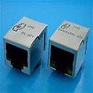 13F-60FGYDPNW2NL--单口RJ45集成滤波器