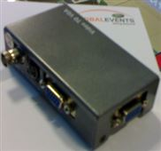 VGA转AV视频转换器