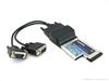 TEC-2009S(TLK-04E)工业级笔记本ExpressCard转双串口卡