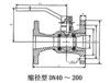 Q41M/PPL全通径整体高温球阀球阀