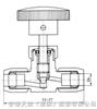 HY6 系列气动管路截止阀